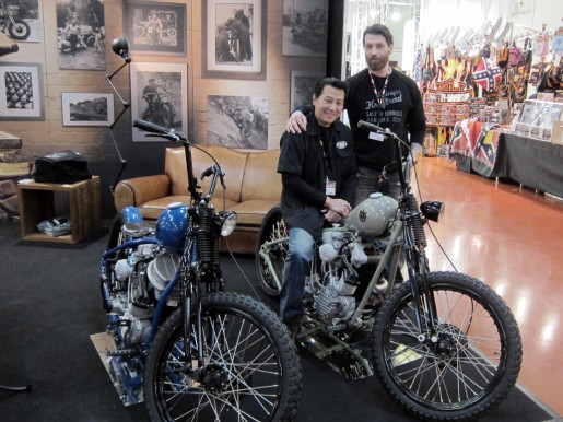 A visit at our Ehinger Kraftrad booth – Custombike 2010.