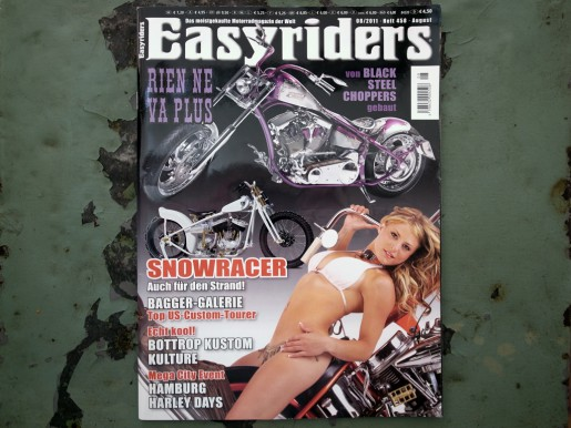 Snowracer in the Easy Rider Magazine.