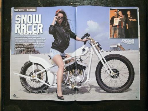 Ehinger Kraftrad im Wild Motorcycles Magazin.